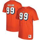 Jason Taylor Miami Dolphins Mitchell & Ness Retired Player Name & Number T-Shirt - Orange