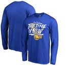 Golden State Warriors Fanatics Branded 2017 NBA Finals Bound Long Sleeve T-Shirt - Royal