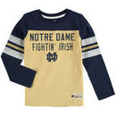 Notre Dame Fighting Irish Preschool Legacy Long-Sleeve Football T-Shirt - Navy