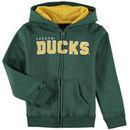 Oregon Ducks Preschool Stated Full-Zip Hoodie – Green