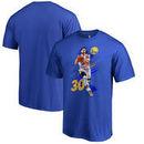 Stephen Curry Golden State Warriors Fanatics Branded Fade Away T-Shirt - Royal