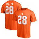 C.J. Spiller Clemson Tigers Fanatics Branded College Legends T-Shirt - Orange