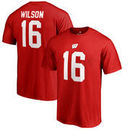 Russell Wilson Wisconsin Badgers Fanatics Branded College Legends T-Shirt - Red