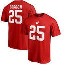 Melvin Gordon Wisconsin Badgers Fanatics Branded College Legends T-Shirt - Red