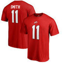 Alex Smith Utah Utes Fanatics Branded Big & Tall College Legends T-Shirt - Red