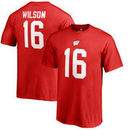 Russell Wilson Wisconsin Badgers Fanatics Branded Youth College Legends T-Shirt - Red