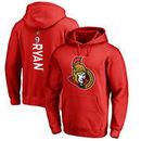 Bobby Ryan Ottawa Senators Fanatics Branded Backer Pullover Hoodie - Red