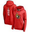 Bobby Ryan Ottawa Senators Fanatics Branded Women's Backer Pullover Hoodie - Red