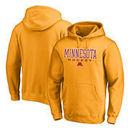 Minnesota Golden Gophers Fanatics Branded True Sport Hockey Pullover Hoodie - Gold