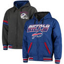 Buffalo Bills G-III Extreme Hot Shot Reversible Full-Zip Hoodie – Royal/Charcoal