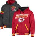 Kansas City Chiefs G-III Extreme Hot Shot Reversible Full-Zip Hoodie – Red/Charcoal