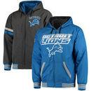 Detroit Lions G-III Extreme Hot Shot Reversible Full-Zip Hoodie – Blue/Charcoal