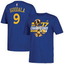 Andre Iguodala Golden State Warriors adidas 2017 NBA Finals Champions Name & Number T-Shirt - Royal