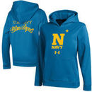 Navy Midshipmen Under Armour Youth Blue Angels Fleece Performance Hoodie – Royal