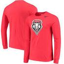 New Mexico Lobos Nike Big Logo Performance Long Sleeve T-Shirt - Red