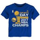 Golden State Warriors adidas Toddler 2017 NBA Finals Champions Parade T-Shirt - Royal