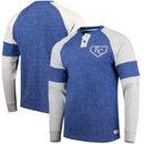 Kansas City Royals Stitches Twisted Yarn Henley Long Sleeve T-Shirt – Royal