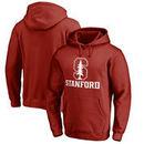 Stanford Cardinal Fanatics Branded Team Lockup Pullover Hoodie - Cardinal