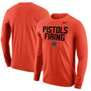 Oklahoma State Cowboys Nike Mantra Long Sleeve T-Shirt - Orange