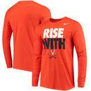 Virginia Cavaliers Nike Mantra Long Sleeve T-Shirt - Orange