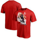 Eric Gordon Houston Rockets Fanatics Branded 2017 NBA 6th Man Of The Year T-Shirt - Red