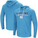 North Carolina Tar Heels Colosseum Big & Tall Big Air Long Sleeve Hooded T-Shirt – Carolina Blue