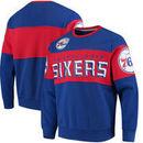Philadelphia 76ers G-III Sports by Carl Banks Wild Cat Supreme II Long Sleeve T-Shirt - Royal/Red