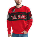 Portland Trail Blazers G-III Sports by Carl Banks Wild Cat Supreme II Long Sleeve T-Shirt - Red/Black