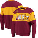 Cleveland Cavaliers G-III Sports by Carl Banks Wild Cat Supreme II Long Sleeve T-Shirt - Wine/Gold
