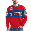 LA Clippers G-III Sports by Carl Banks Wild Cat Supreme II Long Sleeve T-Shirt - Red/Royal