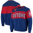Detroit Pistons G-III Sports by Carl Banks Wild Cat Supreme II Long Sleeve T-Shirt - Red/Royal