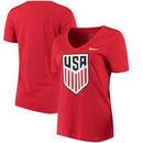 US National Team Nike Women's Legend V-Neck T-Shirt - Red