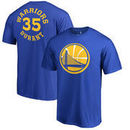 Kevin Durant Golden State Warriors Fanatics Branded Round About Name & Number T-Shirt - Royal