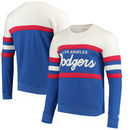 Los Angeles Dodgers Mitchell & Ness Coaches Crew Neck Sweatshirt - Royal