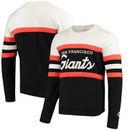 San Francisco Giants Mitchell & Ness Coaches Crew Neck Sweatshirt - Black