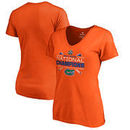 Florida Gators Fanatics Branded Women's 2017 NCAA Men's Baseball College World Series National Champions Homer V-Neck T-Shirt -