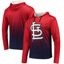 St. Louis Cardinals Gradient Pullover Hooded Sweatshirt - Red