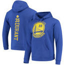 Kevin Durant Golden State Warriors Fanatics Branded Backer Name & Number Pullover Hoodie - Royal