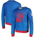 New York Rangers Static Rain Printed Sweatshirt - Blue
