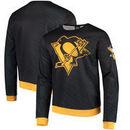 Pittsburgh Penguins Static Rain Printed Sweatshirt - Black