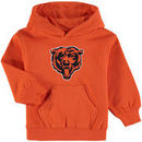 Chicago Bears Toddler Team Logo Pullover Hoodie - Orange