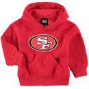 San Francisco 49ers Toddler Team Logo Pullover Hoodie - Scarlet