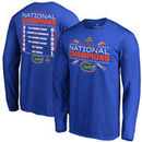 Florida Gators Fanatics Branded 2017 NCAA Men's Baseball College World Series National Champions Line Drive Long Sleeve T-Shirt