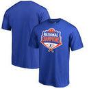 Florida Gators Fanatics Branded 2017 NCAA Men's Baseball College World Series National Champions Grand Slam T-Shirt - Royal