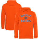 New York Knicks Fanatics Branded Youth Victory Arch Pullover Hoodie - Orange