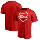 Memphis Hustle Fanatics Branded Primary Logo T-Shirt - Red