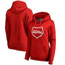 Memphis Hustle Fanatics Branded Women's Primary Logo Plus-Size Pullover Hoodie - Red