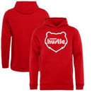 Memphis Hustle Fanatics Branded Youth Primary Logo Pullover Hoodie - Red