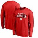NC State Wolfpack Fanatics Branded Square Up Long Sleeve T-Shirt - Red