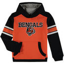 Cincinnati Bengals Youth Allegiance Pullover Hoodie - Orange/Black